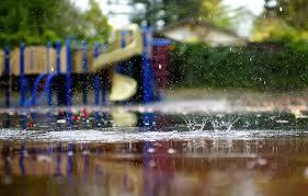 rainy playground